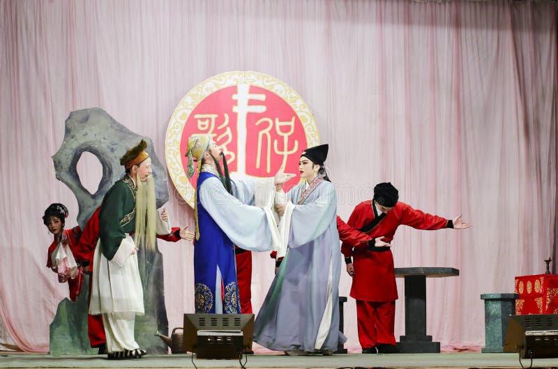 Histoire d'amour d'opéra taiwanais photographie stock