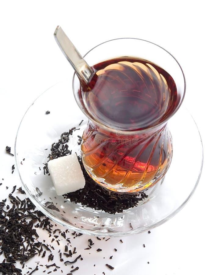 Histoire de thé photographie stock libre de droits