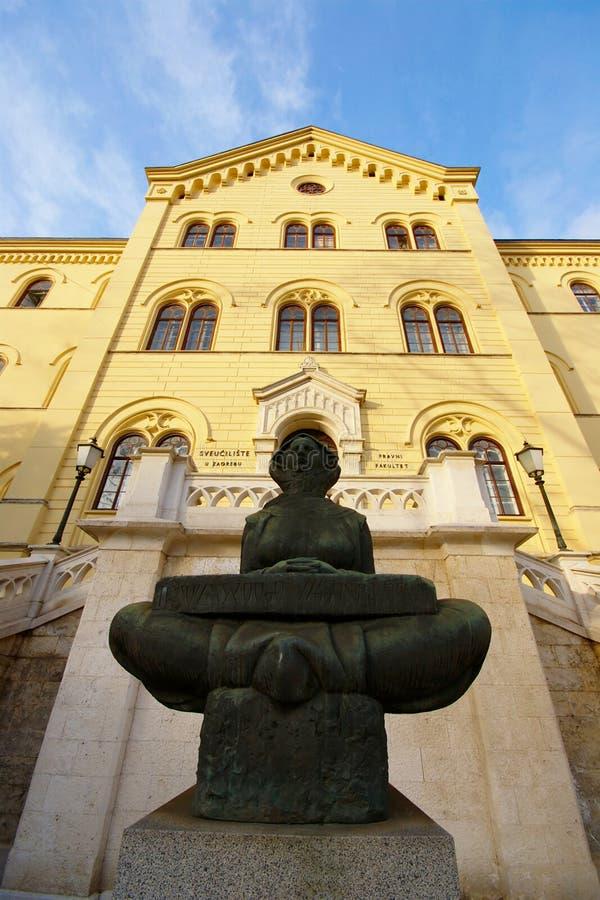 Histoire des Croates, Zagreb photos libres de droits