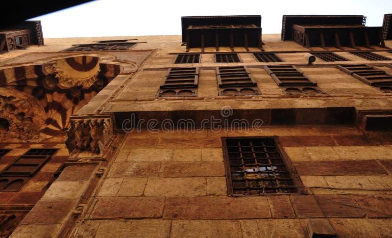 Histoire lointaine de lumière du jour de château de distance images libres de droits