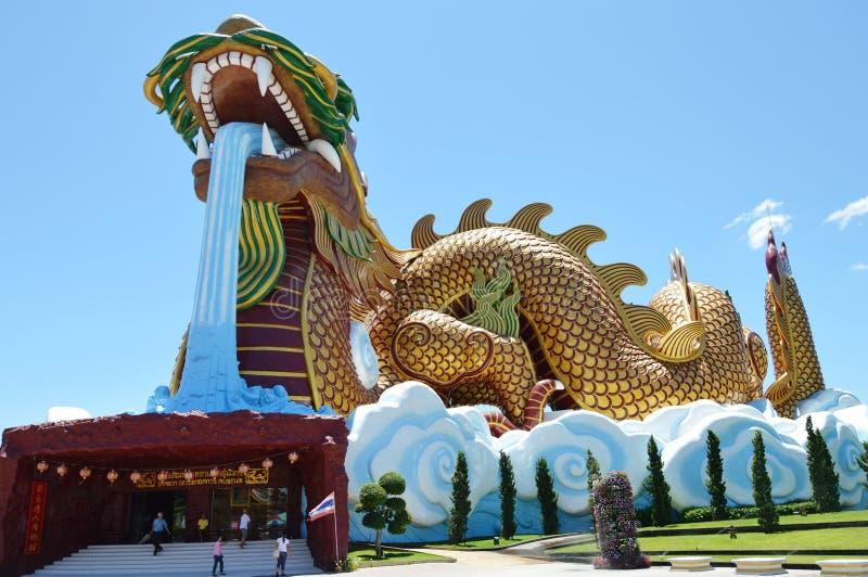 Histoire moderne d'exposition de musée de musée de descendants de dragon et vieille tradition chinoise photo stock