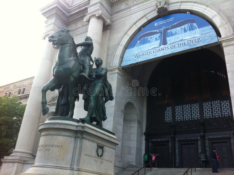 histoire naturelle New York de musée américain photos stock