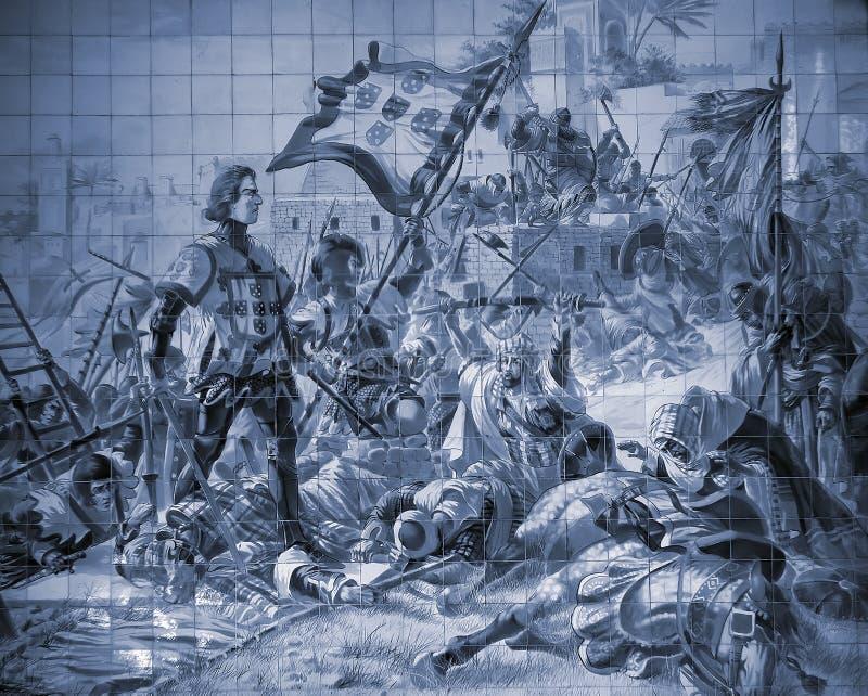 Histoire Portugaise Images libres de droits