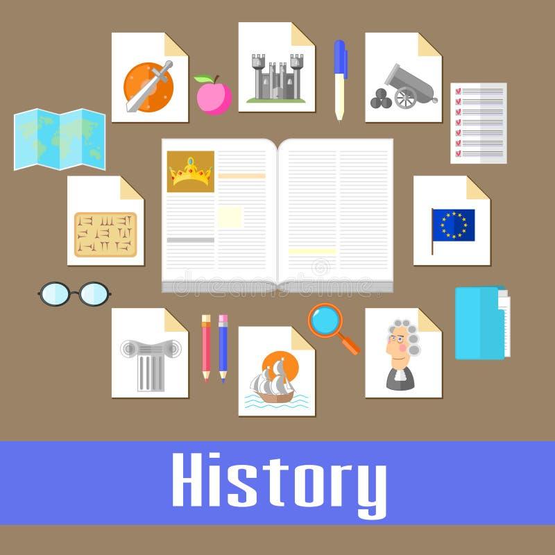 historia stock de ilustración