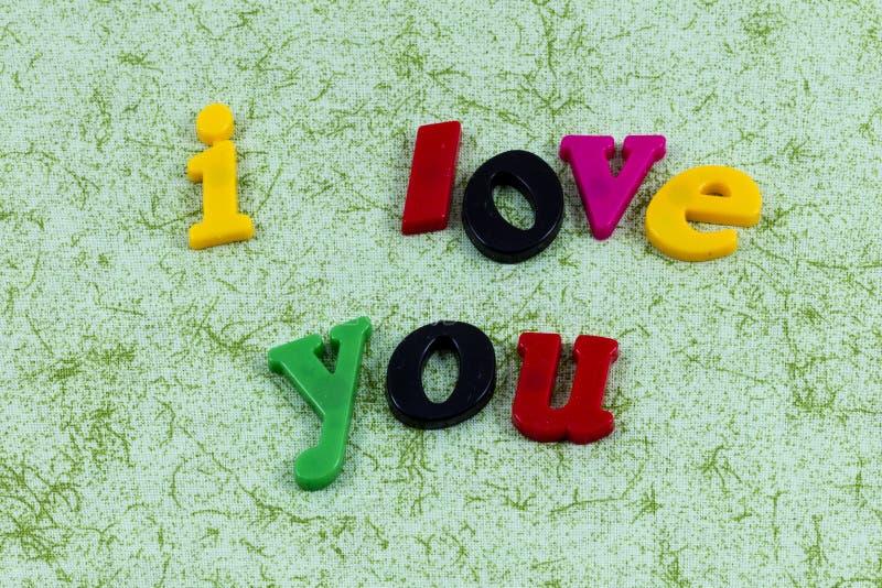 Historia de amor yo usted relación feliz de la familia romántica foto de archivo libre de regalías