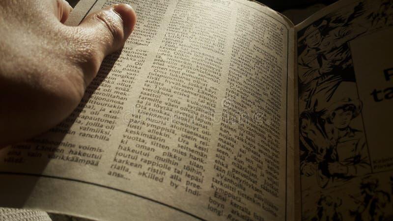 Historia de la lectura imagen de archivo