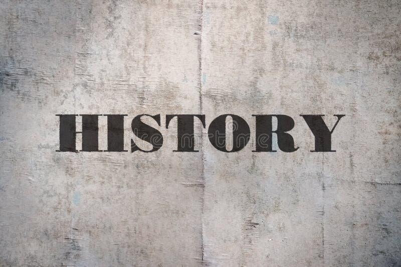 Historia de la sola palabra imagen de archivo