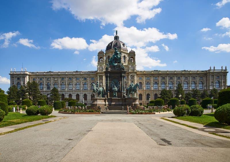 Historia del museo de arte, Viena, Austria imagenes de archivo