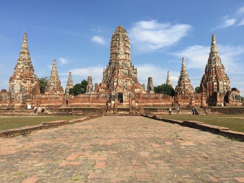 Historia del templo fotografía de archivo