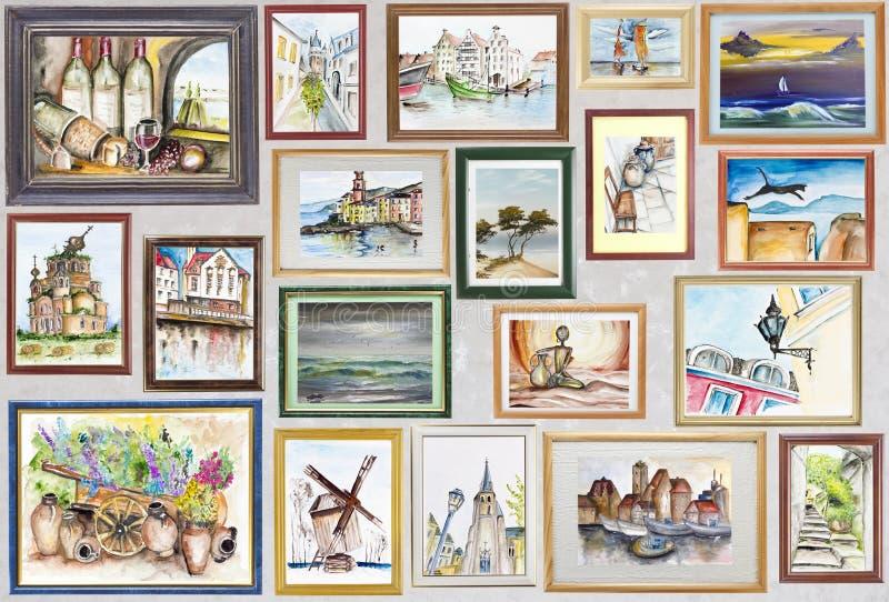 Historia mój podróży pojęcie ilustracji