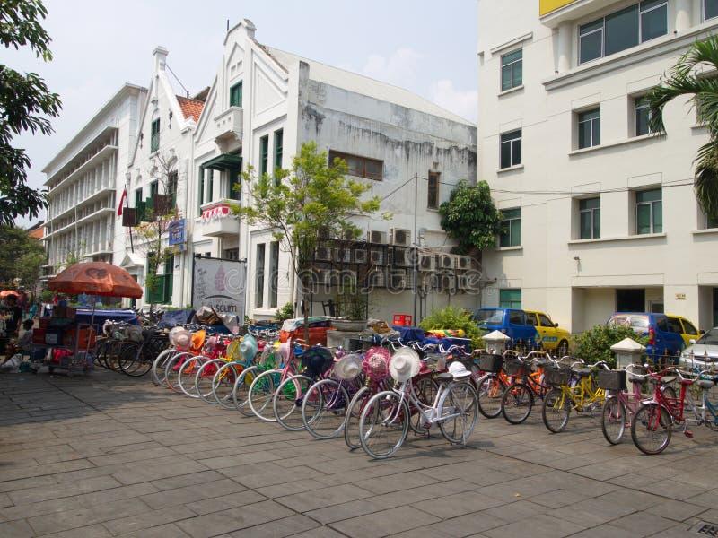 Historia och nationellt museum av Indonesien Lopp i Jakarta, arkivfoto
