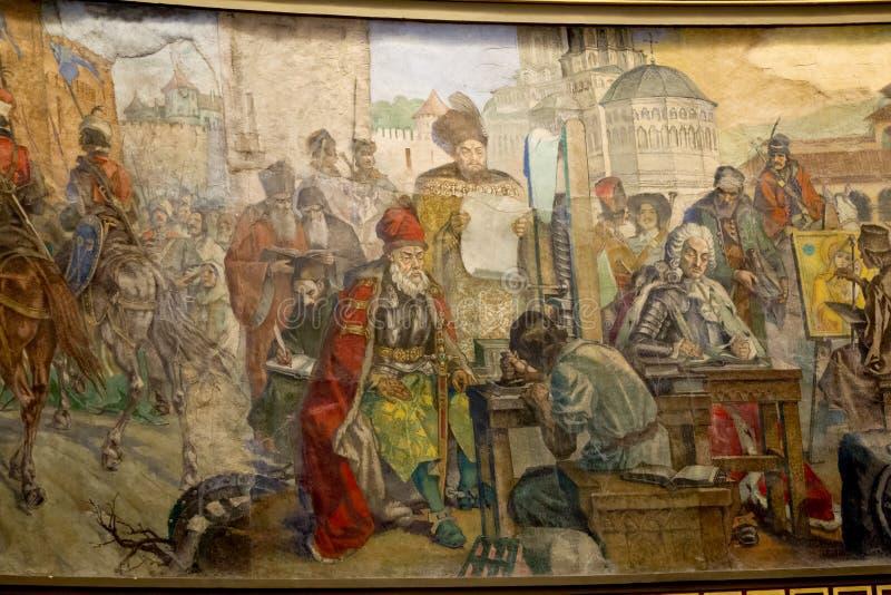 Historia rumana imagenes de archivo