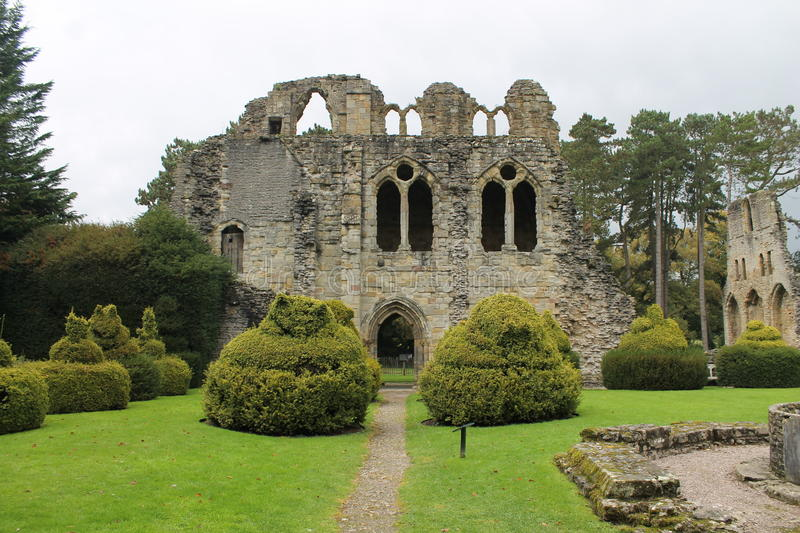 Download Historic abbey ruins stock photo. Image of historic, tourist - 67113812
