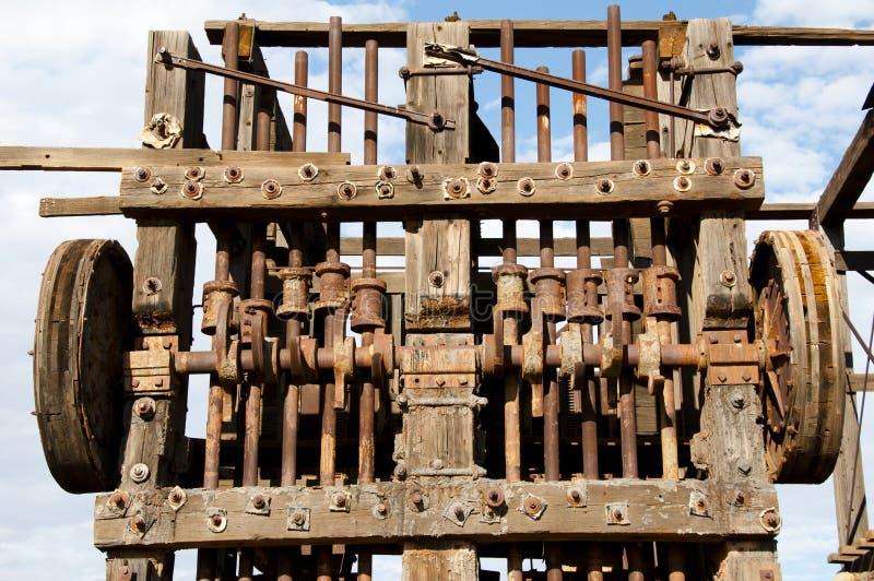 Historic Agnew Stamp Mill. Australia stock images