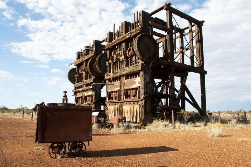 Historic Agnew Stamp Mill. Australia stock image