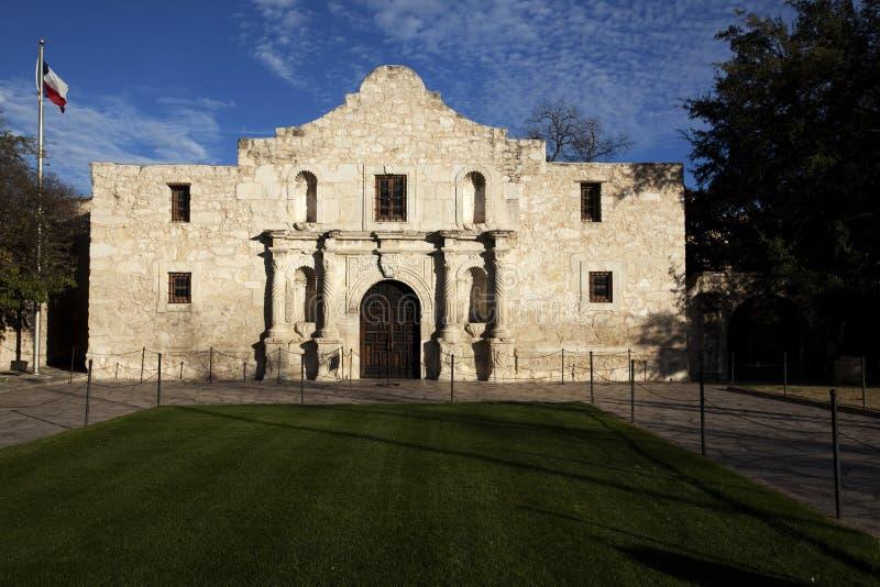 The historic Alamo mission in San Antonio Texas royalty free stock photo