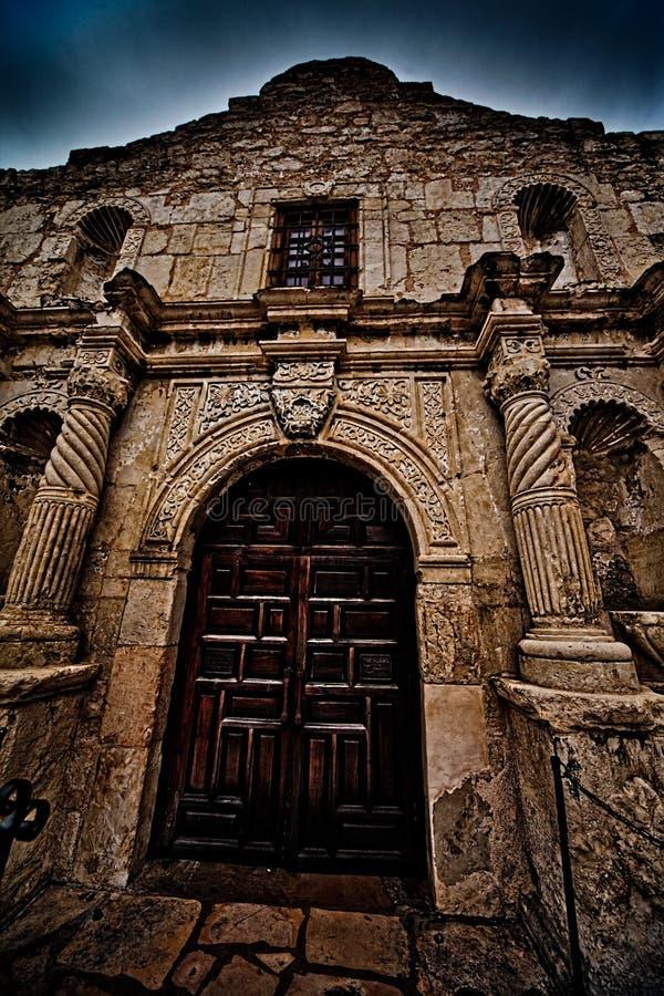 The Historic Alamo in San Antonio Texas stock photo