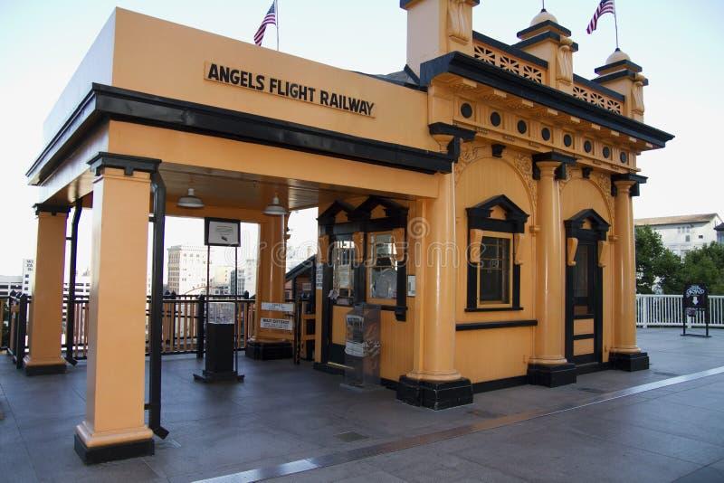 Historic Angels Flight Railway in Los Angeles