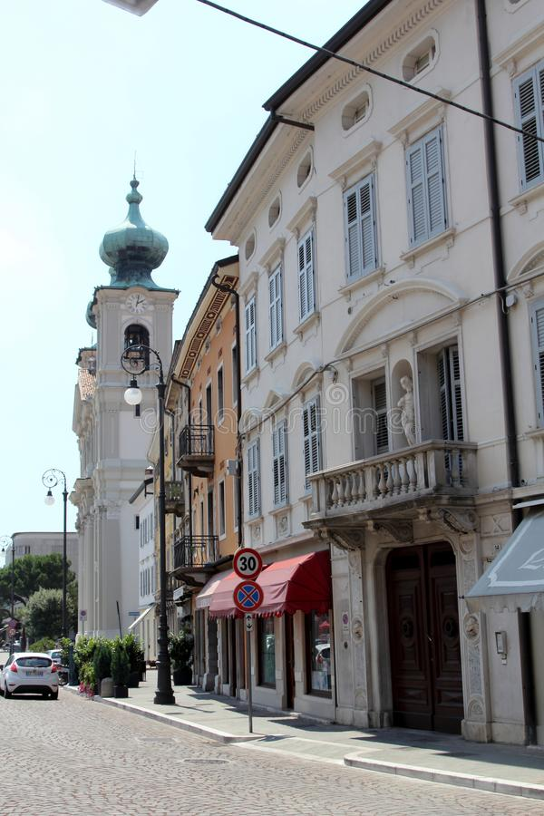 Gorizia, Italy. Historic architecture of Gorizia, Italy stock photos