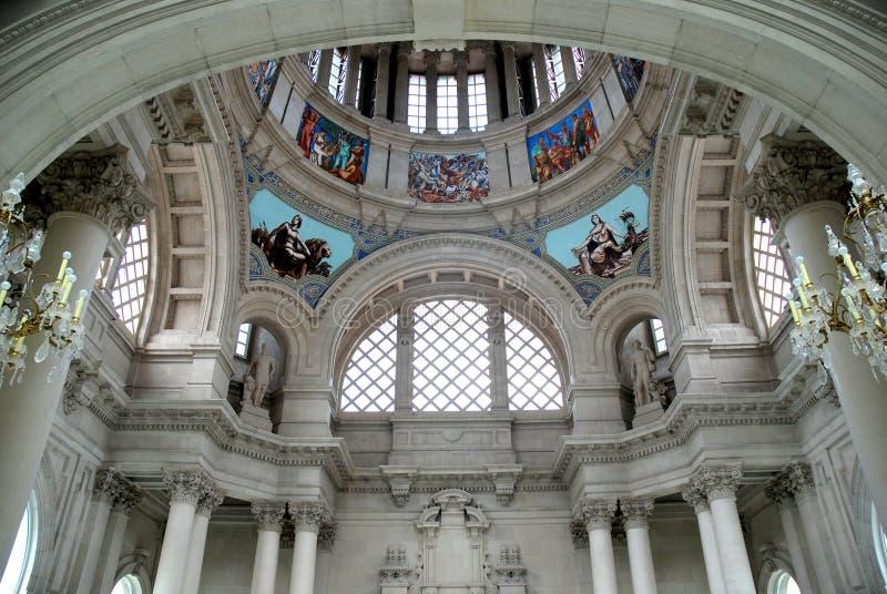 Historic architecture macba royalty free stock photos