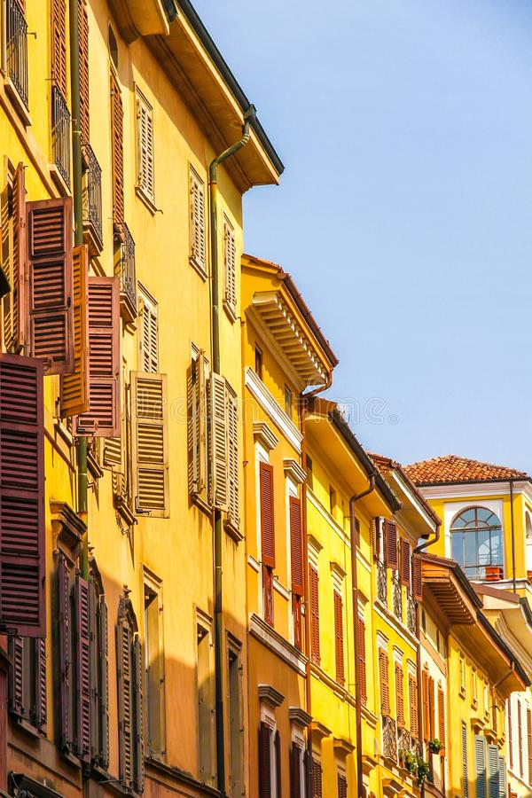 Free Historic Architecture Of Cremona On A Sunny Day Stock Photos - 158930293