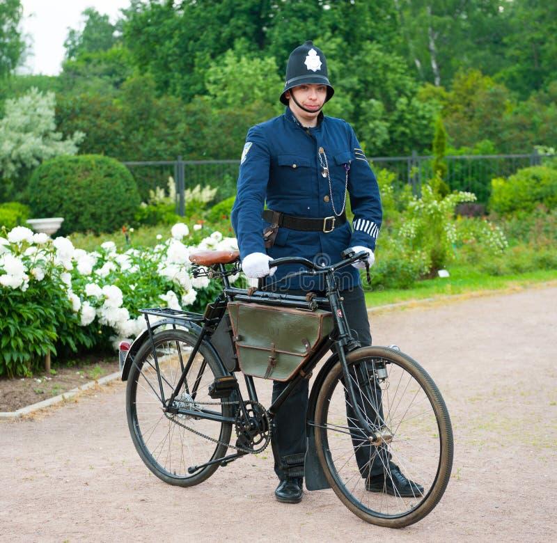 Historic Bike Ride stock image