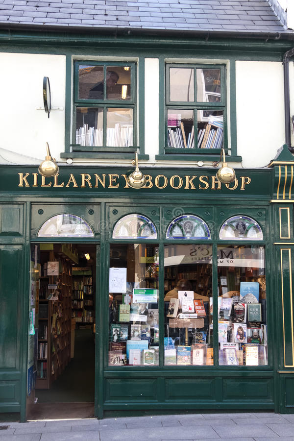 Historic bookstore royalty free stock photography
