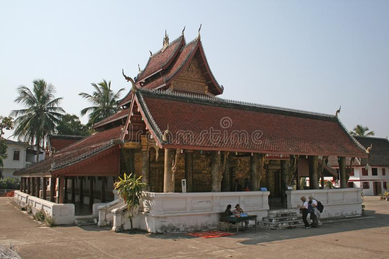 Wat xieng muan royalty free stock image