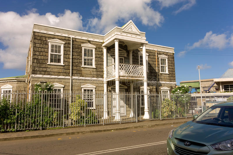 Download An Historic Building In The Caribbean Editorial Image