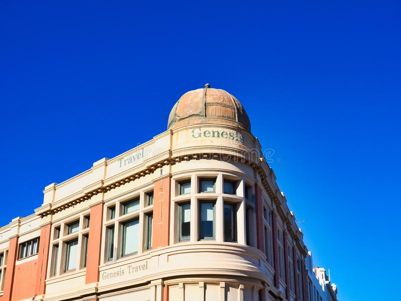 Historic Travel Company Building, Fremantle, Western Australia royalty free stock images