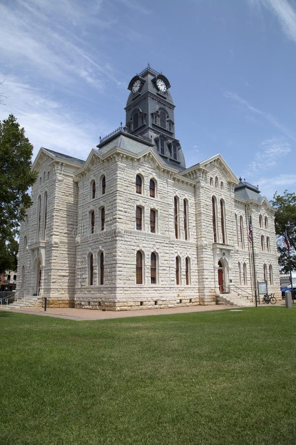 Free Historic Building Granbury Courthouse View Stock Image - 99378531