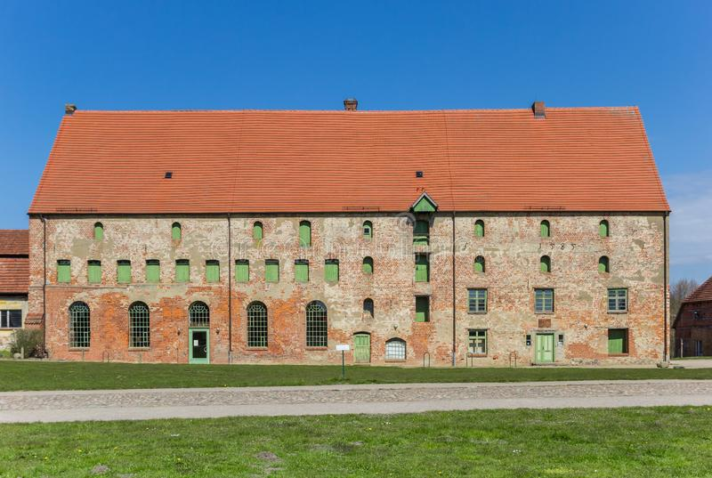 Historic building of the monastery in Dargun. Germany stock images