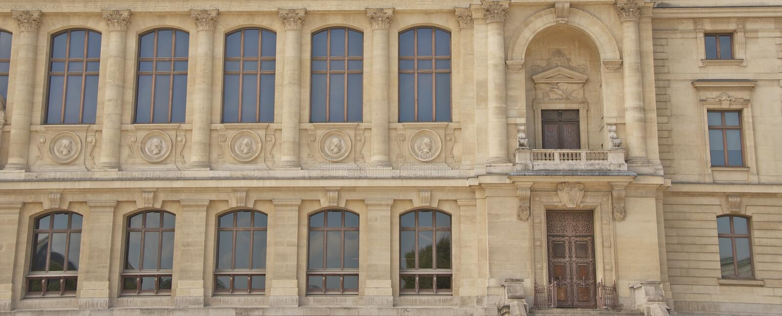 Historic Building In Paris Royalty Free Stock Photo