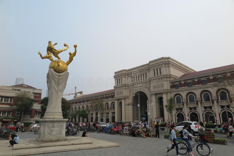 The Historic Buildings Of Five Great Avenues In Tianjin