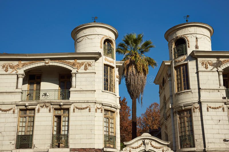 Historic Buildings in Santiago, Chile stock photos