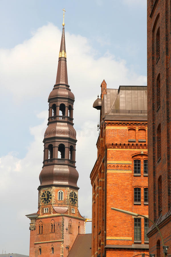 Historic Buildings In The Speicherstadt In Hamburg Royalty Free Stock Images