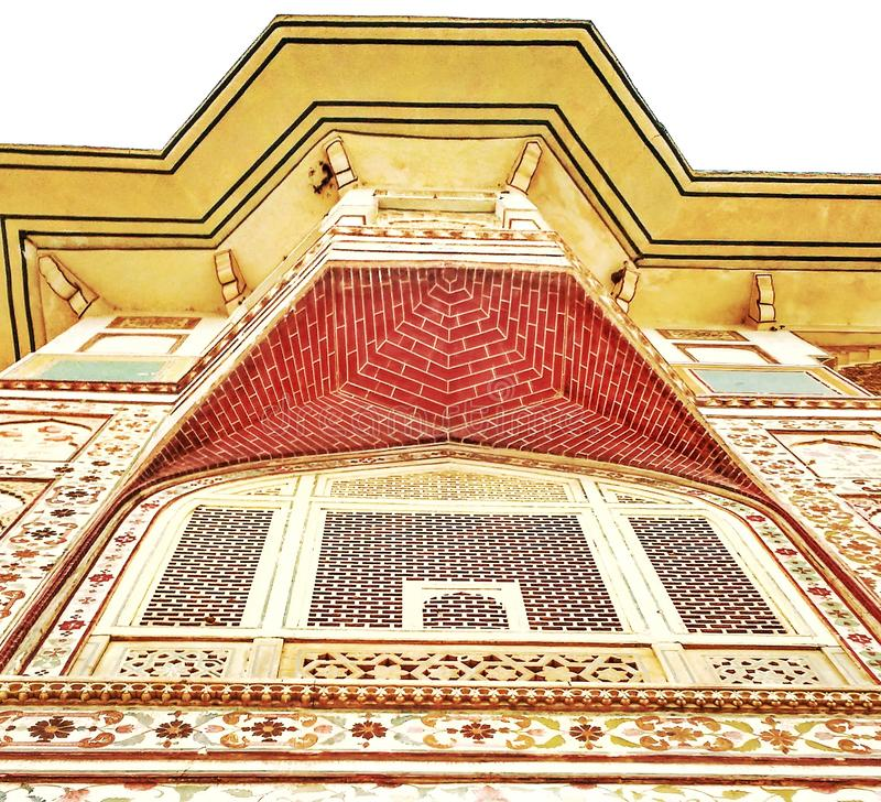 Beauty of Indian heritage City palace, Jaipur. Historic buildings are the symbols of firmness and strength. The intricate details are food for eyes royalty free stock image
