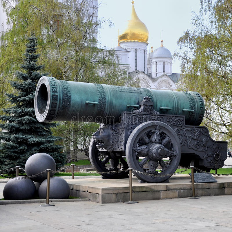 Download Historic Cannon  At The Kremlin Stock Photo - Image of kremlin, architecture: 19054144