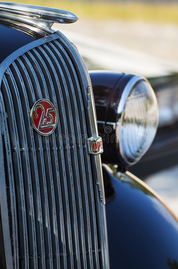 Download Historic car detail stock photo. Image of oldtimer, drive - 34348800