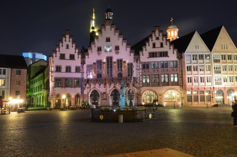 Historic Center of Frankfurt royalty free stock image