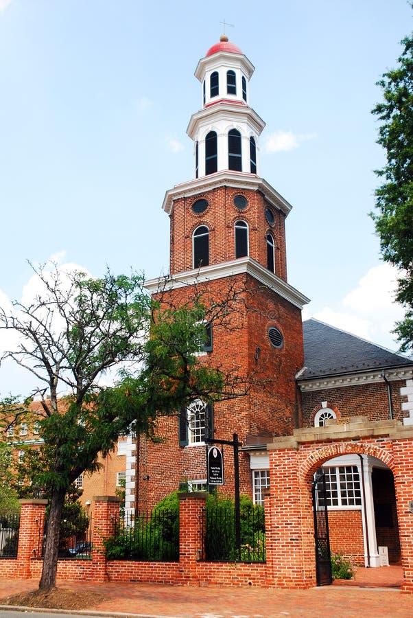 Historic Christ Church, Alexandria, Virginia royalty free stock photo