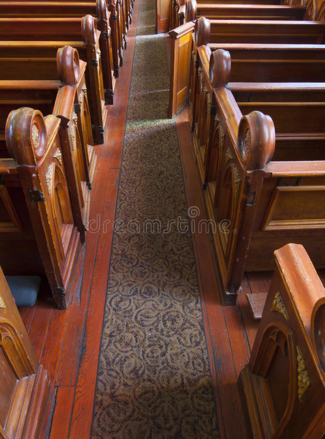 Download Historic Church Interior Pews Stock Photo - Image: 26365562