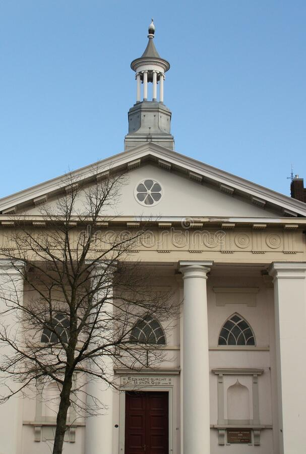 Historic Church in Kampen. Netherlands stock photos
