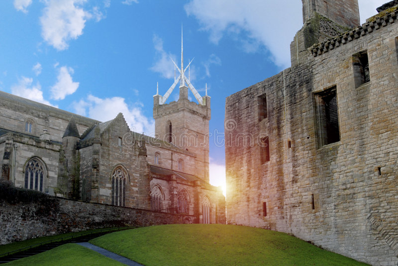 Historic Church and Palace stock images