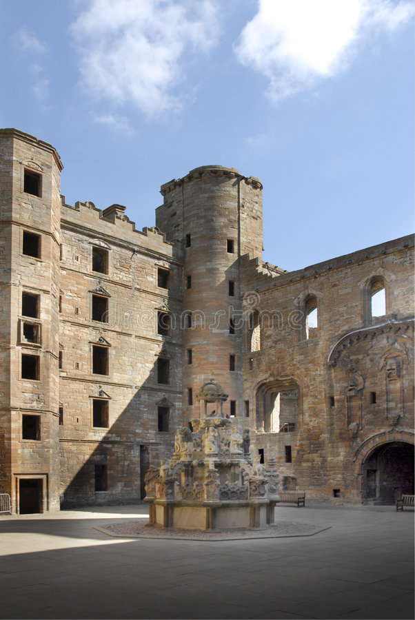 Historic Church and Palace stock photography