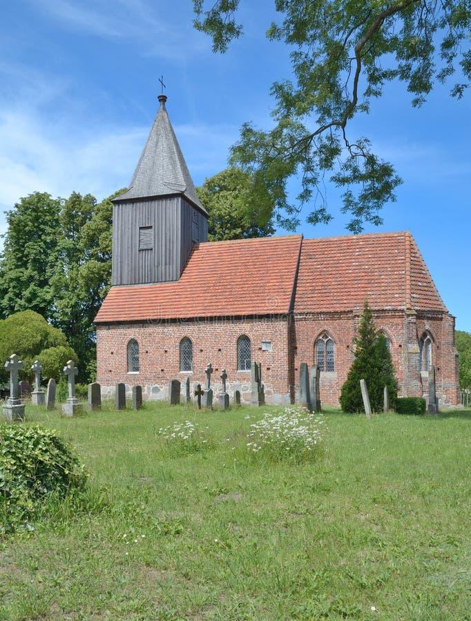 Historic Church,Ruegen island,Baltic Sea,Germany stock photo
