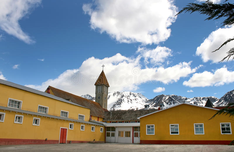 Download Historic Church From Ushuaia. Stock Image - Image: 28242717