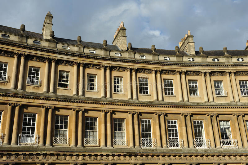 Download The Historic Circus In Bath England Stock Image - Image: 27175487
