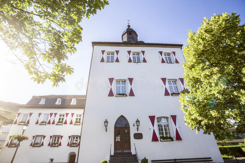 Historic city ahrweiler in germany. The historic city ahrweiler in germany royalty free stock image