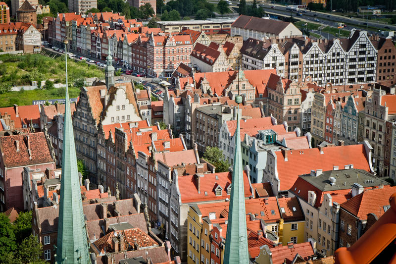 Download Historic city of Gdansk stock image. Image of poland - 17588909